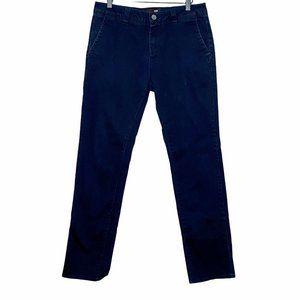 RSQ Slim Straight Chino Navy Blue Pants